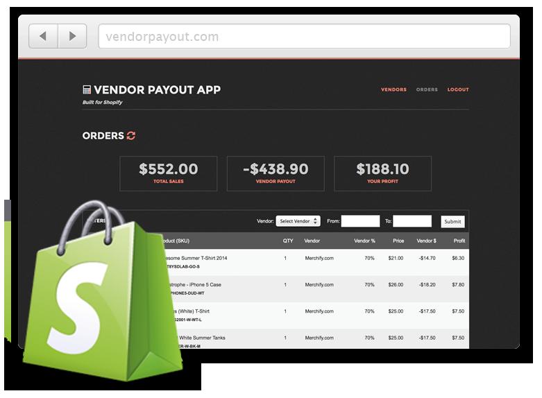 Vendor Payout App
